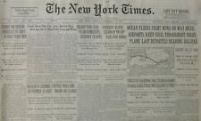 9-1931 September 15 OCEAN FLIERS NEAR HALIFAX RODY JOHANSSEN VIEGA - GANDHI LEAD
