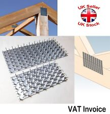 Galvanised Joining Splits Timber Mending Nail Spiked Punched Plates Thick:1.5mm