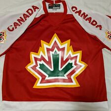 Rare Vintage Team Canada Hockey Jersey Large Nike
