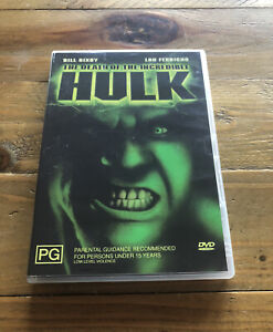 Death Of The Incredible Hulk (DVD, 2005) Rare OOP