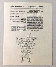 Hulk Hogan WWF Hasbro Action Figure US Patent 1991 Toy Wrestling WWE Rare