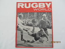 Rugby Union Magazine--Rugby World July 1965