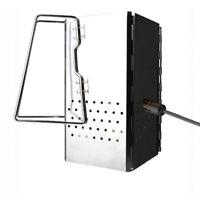 Steel Square Folding Charcoal Starter Grill Baket BBQ Grill Chimney Starter