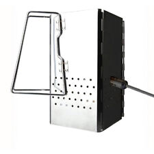 Steel Square Folding Charcoal Starter Grill Baket BBQ Grill Chimney Starter