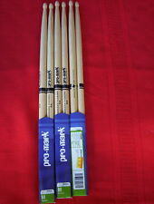 (03) Pair Pro-Mark 5A-hickory wood tip
