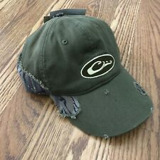 DRAKE WATERFOWL Mossy Oak Distressed Cotton Cap Hat Camo NWT