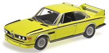 BMW 3.0 CSL (Typ E9) gelb  1973  Limitiert auf 504 St Minichamps 1:18 OVP NEU