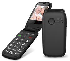 Seniorenhandy Handy mit großen Tasten Klapphandy Telefon ohne Vertrag ROXX MP400