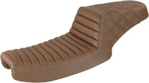 Saddlemen Brown Rear Lattice Stitched Step Up Seat 891-04-173BR 0803-0662