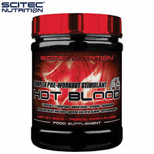 Hot Blood 300g Pre-Workout Booster Energy Endurance High Anabolic Bodybuilding