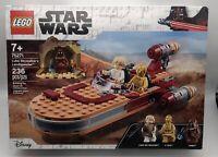 LEGO Star Wars Luke Skywalkers Landspeeder 75271 Build Kit NEW Sealed Box