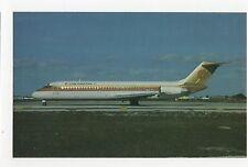 Continental Airlines Douglas DC-9-32 Aviation Postcard, A662a