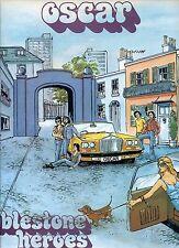 OSCAR cobblestone heroes UK 1977 EX LP
