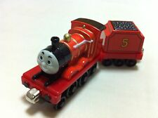 Thomas & Friends James With Tender Magnetic Metal Toy Train Loose In Stock
