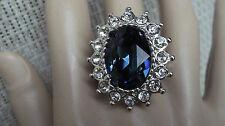 Kenneth Jay Lane KJL Princess Ring  Adjustable,BNWOT