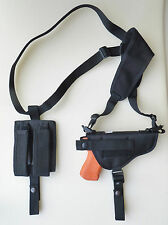 Shoulder Holster for SIG SAUER P220 & P226 with Underbarrel Laser Dbl Mag Pouch