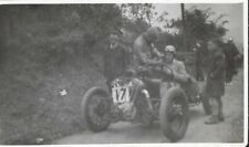 CHATTERBOX SPECIAL BARRIE WOODALL  SHELSLEY WALSH PADDOCK PHOTOGRAPH 1938