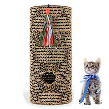Pet Cat Scratch Board Claw Care Toy Scratching Post Roll Scratcher Stand New