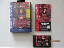 Judge Dredd Sega Megadrive game , Boxed with Manual.