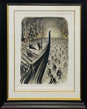 "SALVADOR DALI ""SYMPHONY BICYCLETTE"" 1970 