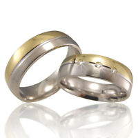 2 Trauringe 925 Silber GRAVUR + Etui Eheringe Verlobungsringe Partnerringe A28
