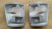 SILVER CORNER LIGHT INDICATOR for TOYOTA HILUX SR5 2WD 4WD 10/97-10/01 PAIR