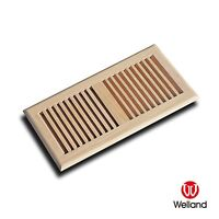 2x12 Vent Self Rimming Hickory Drop In Wood Floor Unfinished - WELLAND - NEW
