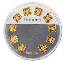 Multidisc Gold 10 g mit 10x 1 g Goldbarren in Blisterverpackung 999,9
