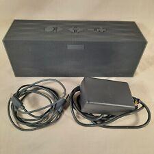 Jawbone Big Jambox Bluetooth Speaker - Graphite Hex J2011 w power adapter & USB