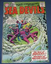 Sea Devils #4  April 1962