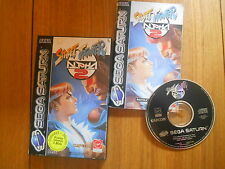 Street Fighter Alpha 2 / Jeu Saturn / Complet