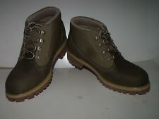 Timberland Earthkeeper Campsite Mens Mid Hiking Boot (Green) NEW Mens Sz 10