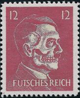 Stamp Replica Label Germany 0098 WWII Lame Fuhrer Mock Hitler USA Forgery MNH