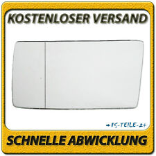 Spiegelglas für MERCEDES E-KLASSE W124 1985-1996 links Fahrerseite asphärisch