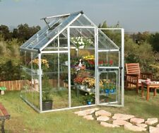 Maze Walk in Polycarbonate Greenhouse 6ft x 6ft