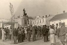 Lenin Statue Lviv Ukraine Removed by Nazis 1941 WW2 7x5 Inch Reprint Photo