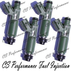 12 Hole OEM Denso Fuel Injectors Set (4) 23250-22040 for 1995-2008 Toyota 1.8 I4