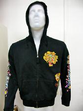 Jacke Hoodie Sweat Christian Audigier DesignerJacke Ed Hardy Gr. L NEU !!