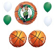 Boston Celtics 7 Piece Balloon Bouquet Birthday Party Decorations Basketball