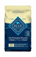 Blue Buffalo Life Protection Formula Senior Dog Food – Natural Dry Dog Food f...