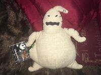 """DISNEY STORE EXCLUSIVE THE NIGHTMARE BEFORE CHRISTMAS OOGIE BOOGIE 6"""" SOFT TOY P"""