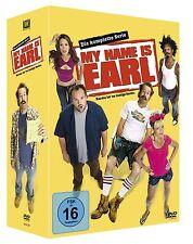 16 DVD-Box ° My Name is Earl ° Superbox komplette Serie ° NEU ° Staffel 1 - 4