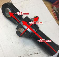 4t Hydraulikzylinder mit Schlauch Hub 24cm minimale Länge 470mm blau 00231