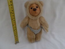 Vintage 1990 Raikes Bears Ben  6 inch jointed bear with tags - Perfect!