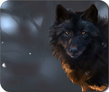 Black Wolf Large Mousepad Mouse Pad Great Gift Idea