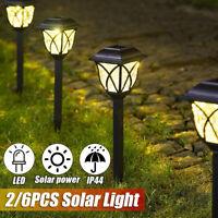 Outdoor Solar  LED Light Waterproof Stake Lamp Home Garden Yard Lawn  G