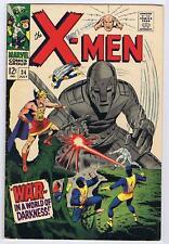 X MEN 34 4.5  NICE GLOSSY CLN 1967 LL