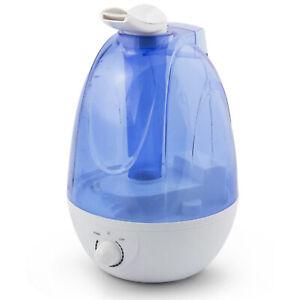 Humidificateur Ultrasons Air Ambiante Diffuseur Mini pour Maison Enfants Feu LED