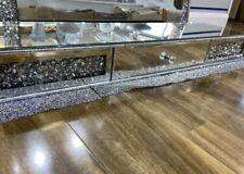 Crystal Crushed Diamond Floating Shelf, Dressing Table, Home Decor, Gift