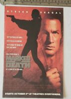 Marked For Death Movie Print RARE Advertisement